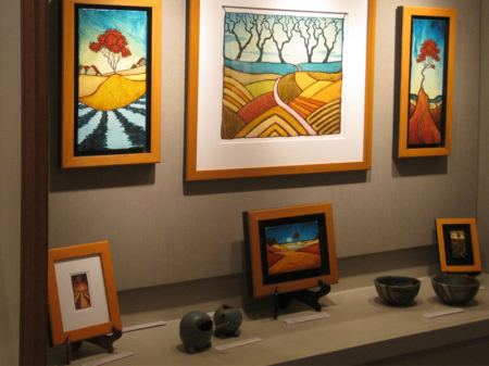 GC Myers' art at the West End Gallery