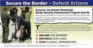 Jan Brewer campaign flyer