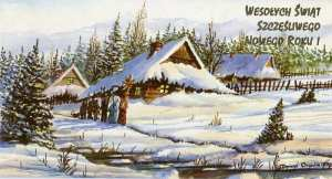 Christmas card from Poland