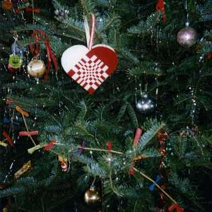 Christmas tree detail