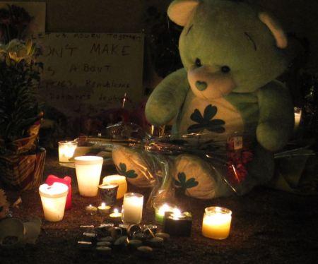 Gabrielle Giffords vigil