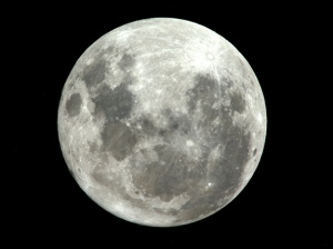 Supermoon image from ESA/NASAAstronaut Paolo Nespoli