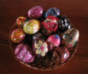 Alicja Mann's Easter Egg collection