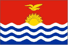 Flag of the Republic of Kiribati