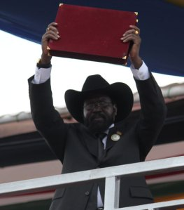 President Salva Kiir Mayardit of the Republic of South Sudan
