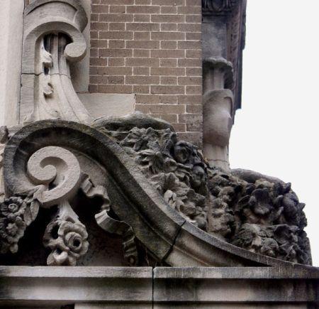 Architectural detail in Savannah, Georgia