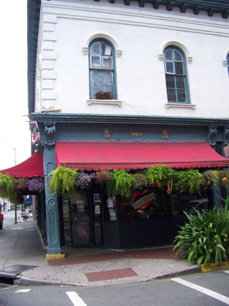 Sweet Mellisa's Restaurant on Whitaker Street, Savannah, GA