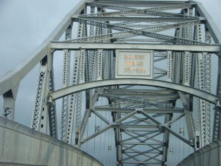 Bourne Bridge to Cape Cod, Massachusetts - photo by Alicja Mann
