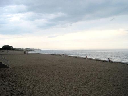 Beach at Dusk - Cape Cod, Massachusetts - photo by Alicja Mann