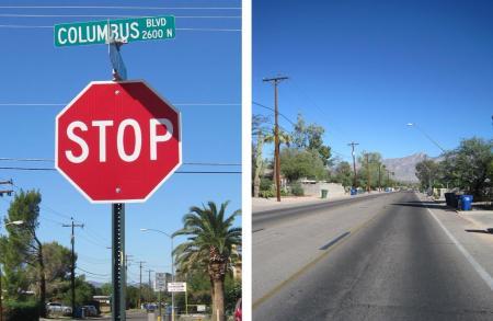 Columbus Boulevard, Tucson