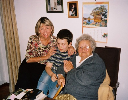 Alicja, Jan, and Great Grandmother - Copyright (c) 2011 by Alicja Mann