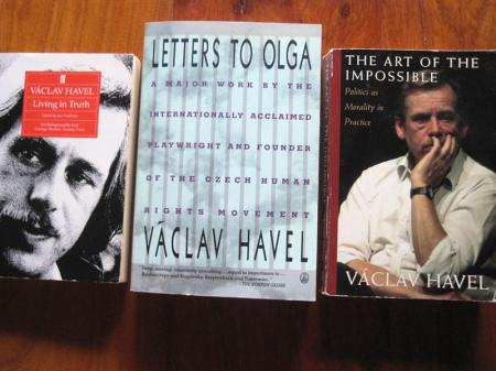 Three books by Vaclav Havel