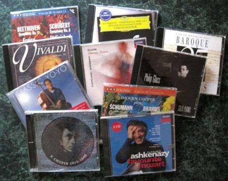 10 classical CD covers