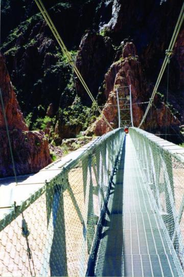 Footbridge at Grand Canyon