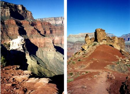 Grand Canyon textures and colors by Alicja Mann