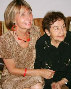 Alicja and her mother