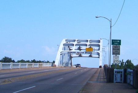 Edmund Pettus Bridge, Selma, Alabama