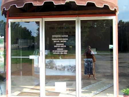 Entrance to Civil Rights Museum, Selma, Alabama