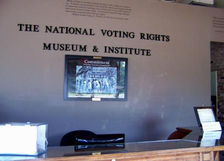 Inside the National Voting Rights Museum