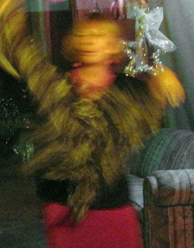Alicja dancing troubles away