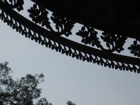 Detail of the ornamental iron work