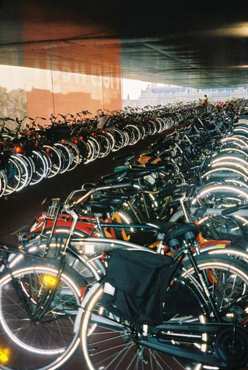 More bicycles in Amsterdam