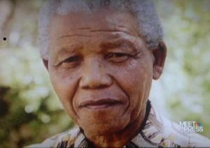 Potrait of Nelson Mandela